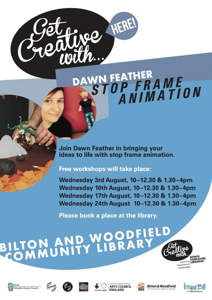 Summer InspirEd Animation Workshops- Bilton and Woodfield