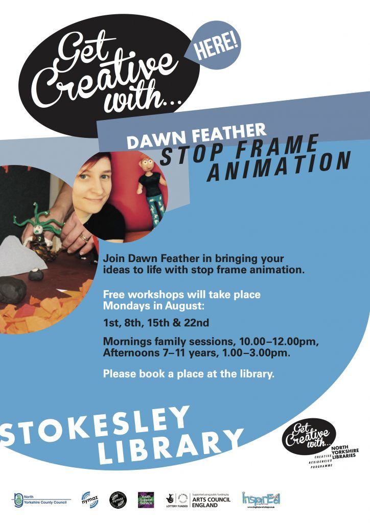 Summer InspirEd Animation Workshops- Stokesley