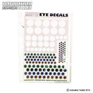 Eye decal set